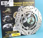 TIGER 885i & 955i 1998-04: EBC MD643 Rear Brake Disc. KBA/TUV. +PLUS 5 Free Stainless Steel Disc Bolts!